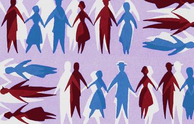 White Non-college Voters Split Along Gender Lines